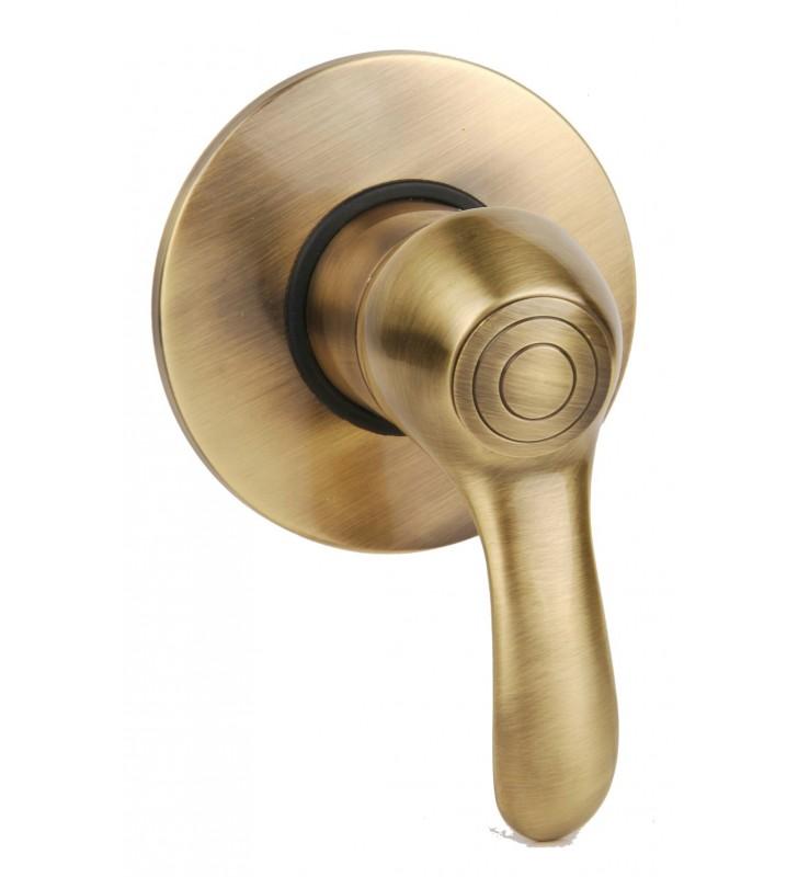 Miscelatore incasso doccia serie distri vecchi ottoni - Rubinetti bagno ottone ...