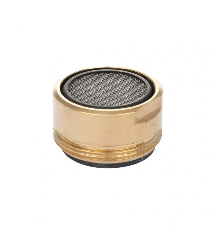Aeratore in ottone dorato maschio Idrobric B0094