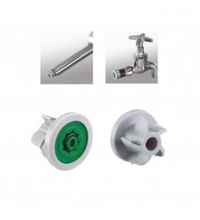 Regolatore di portata Neoperl per doccette e rubinetti con attacco a muro Idrobric BLIROM011XRP