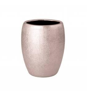 Bicchiere serie glitter in ceramica rosa ramato Aquasanit QF2100RA