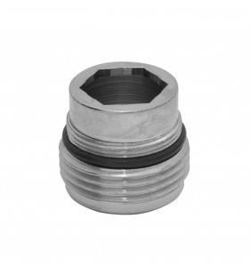 Niples in ottone cromato per attacco canne universali a rubinetti m Idrobric BLIRAC0289AU