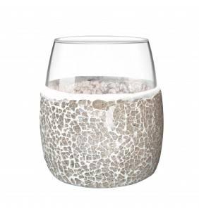 Bicchiere serie dora in vetro Aquasanit QF6100TO