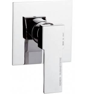 Rubinetto da incasso per vasca/doccia quadro - serie qubika Remer Q30