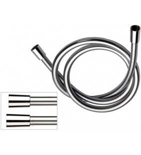 Flessibile per doccia retinato metallizzato in pvc atossico 120 cm  332CN2G120