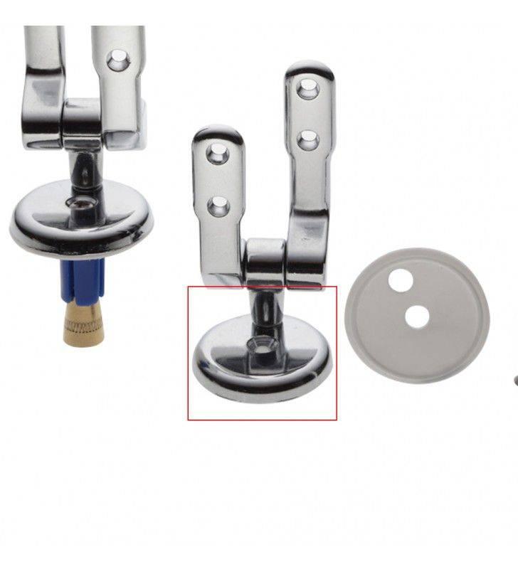 Coppia cerniere universali per WC ad espansione centrale Idrobric BLICER0339CE