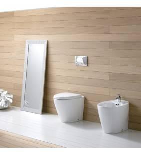 Bidet e vaso wc a terra serie venice marchio Idrobric Idrobric setwcbidetveniceIDROBRIC