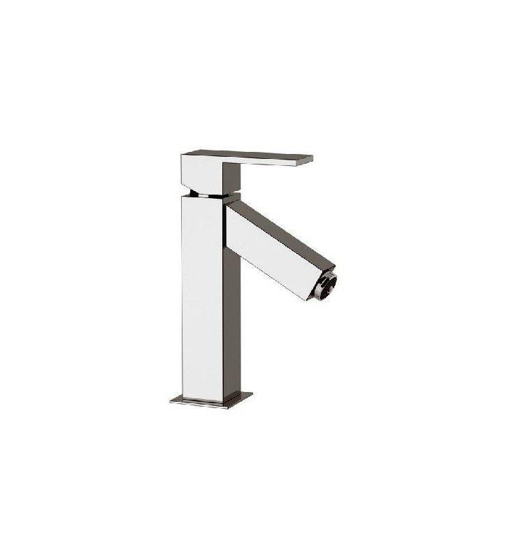 Miscelatore ideale per lavabo con luce led della serie oxy light di danieol rubinetterie Daniel Rubinetterie OXL606CR