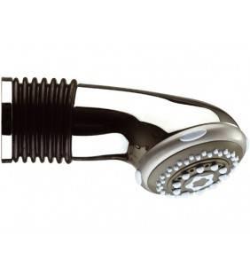 Braccio doccia con soffione integrato 3 funzioni