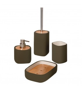 Set completo color marrone - serie twin Aquasanit SET12
