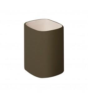 Bicchiere ceramica e legno - serie twin (MM1) Aquasanit QC4100