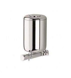 Dispenser sapone liquido a parete cromato - Serie System Idrobric A05670CR00A