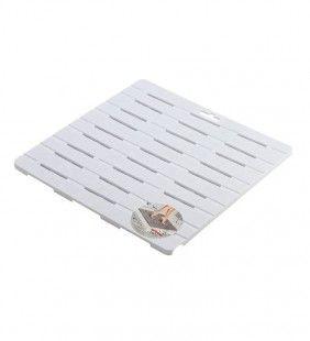 Pedana doccia bianca rigida 55x55 Feridras 971007