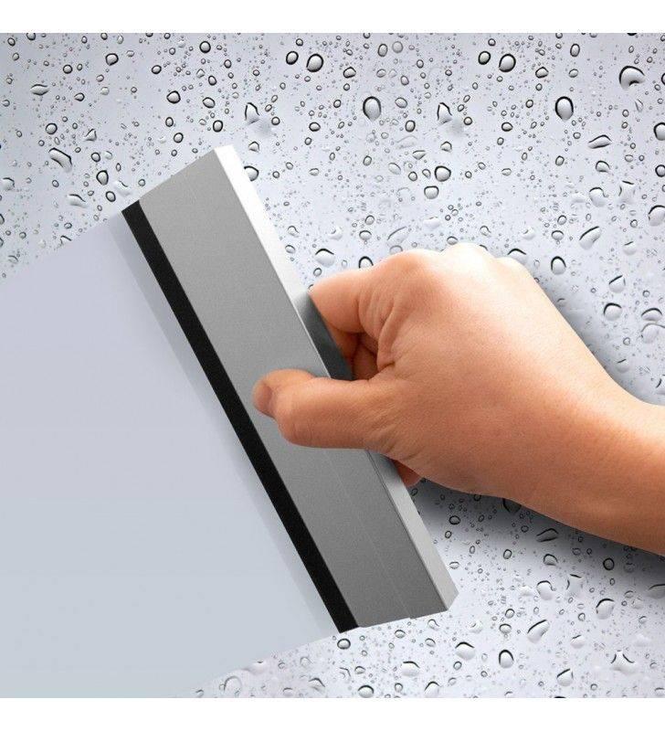 Mensola per aste doccia con tergivetro e supporto doccetta - serie concept Aquasanit A112009MT