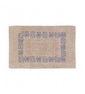 Tappeto di cotone con spirale e colori assortiti, 50x80 cm Feridras 788035