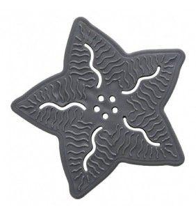 Set formine antiscivolo 5 pezzi grigio stella Feridras 842030