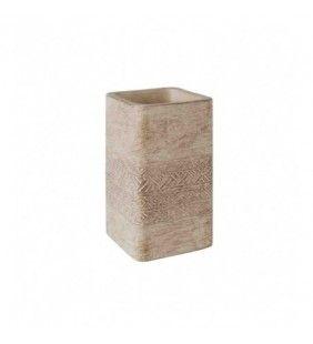 Bicchiere porta spazzolini in cemento - Serie Ramses Aquasanit QD3100MA