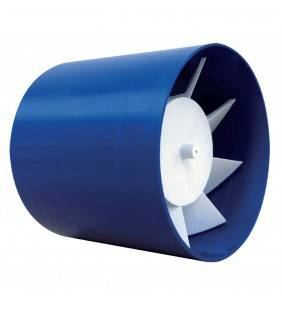 Aspiratore assiale da incasso ad espulsione diretta, foro 100 (MM1) Idrobric VALASP0088AS