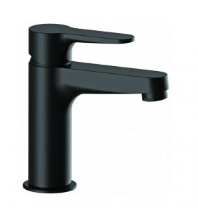 Miscelatore lavabo nero opaco moderno ed elegante serie winner Remer W10NO