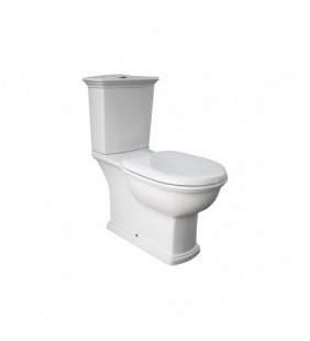 Set completo wc con scarico a terra - serie washington Rak Ceramics Setmonobloccowashington