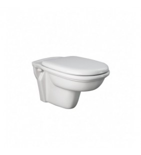 Vaso wc sospeso scarico parete - serie washington Rak Ceramics SCACER0659VS