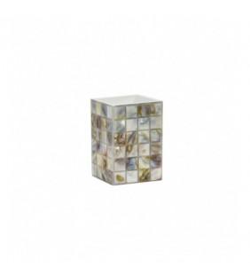 Bicchiere effetto madreperla - serie perl Aquasanit QD9100MA