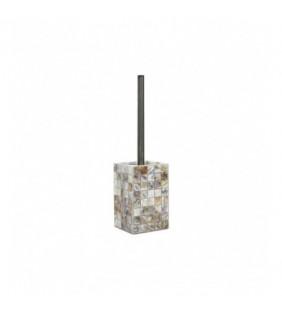 Porta scopino effetto madreperla - serie perl Aquasanit QD9140MA