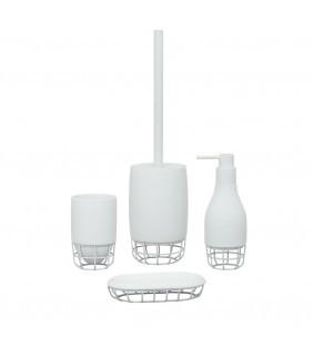 Set completo bianco - serie grid Aquasanit SET62