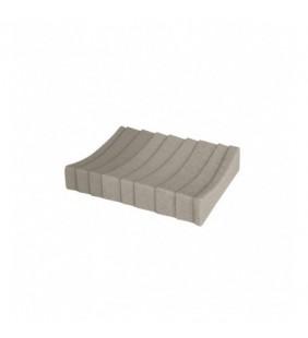Porta sapone marrone - serie layer Aquasanit QD7110MA