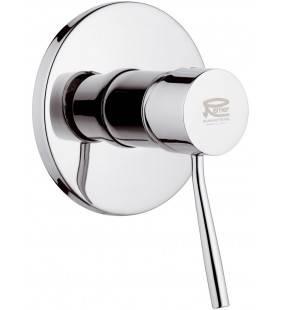 Rubinetto monocomando da incasso per doccia serie minimal Remer N30