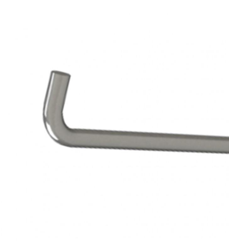 Portarotolo serie care in acciaio inox per maniglie ribaltabile Aquasanit A10690AX009