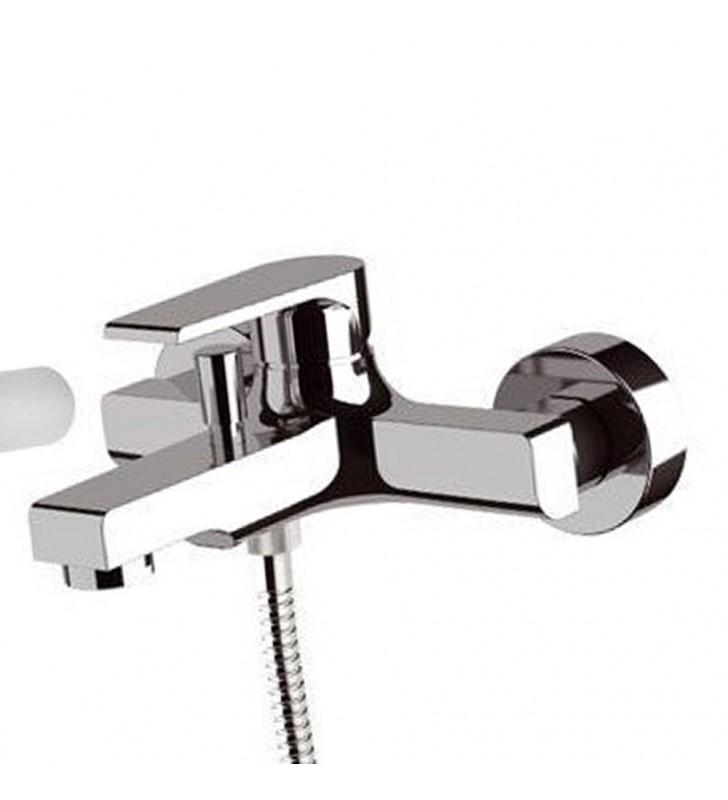 Miscelatore monocomando vasca con accessori tondo moderno (MM1) Mariani Rubinetterie 230-AT