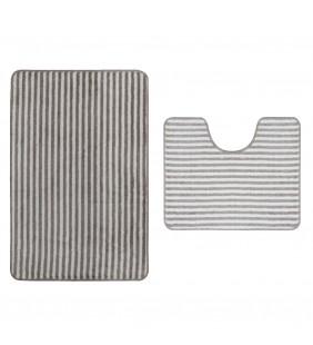 Set 2 tappeti serie mystique per lavabo - wc