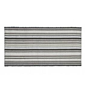 TAPPETO MINORCA 60x120 bianco grigio e nero