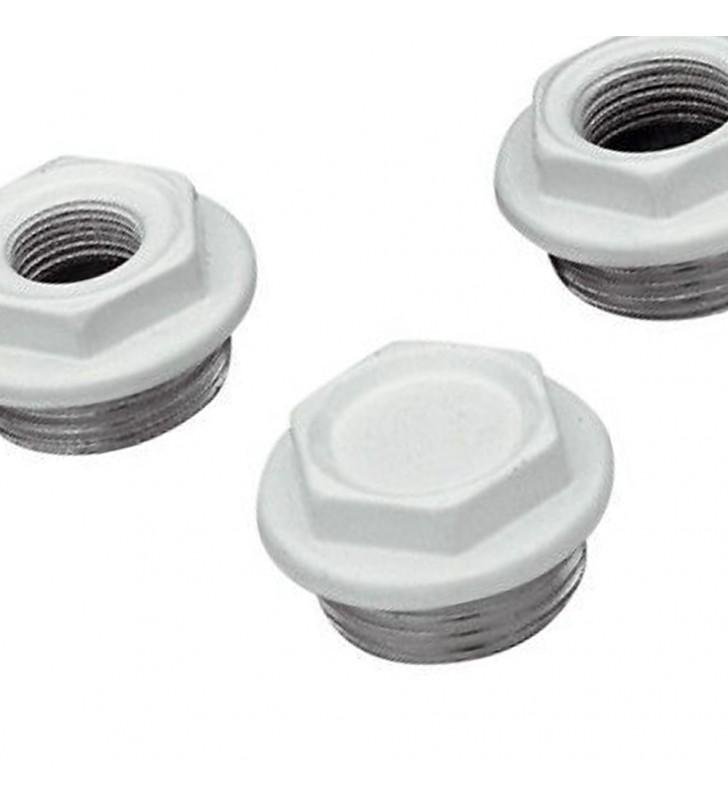Tappo verniciato per radiatori in alluminio 1x3/8 white RR 541DX1038