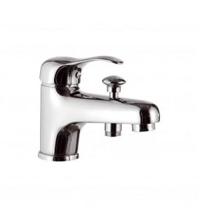 Rubinetto lavabo/vasca con deviatore - serie musa Remer M04