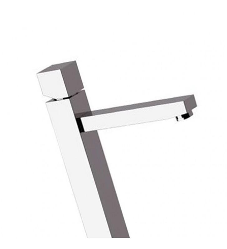 Miscelatore lavabo tipo alto design moderno sq3 Remer S11L3