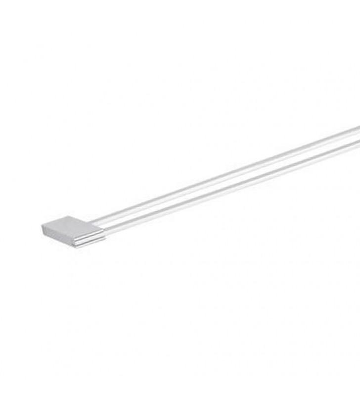 Portasalviette doppio 60 cm - serie flat-re (MM1) Remer FT33