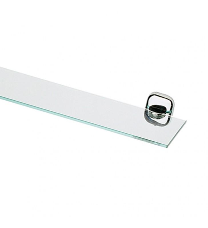 Mensola in vetro sfumato verde - serie suite Remer SU20