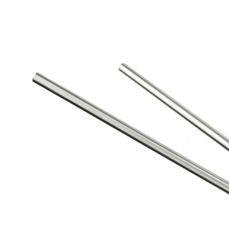 Porta salviette a snodo in acciaio spazzolato - serie strike Aquasanit A87150NS
