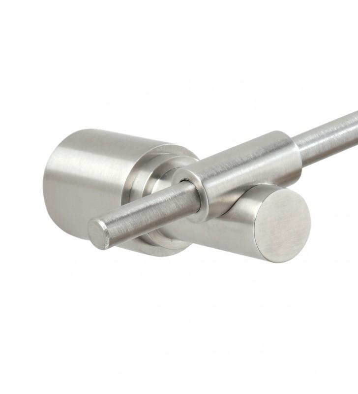 Porta rotolo in acciaio spazzolato - serie strike Aquasanit A8725BNS