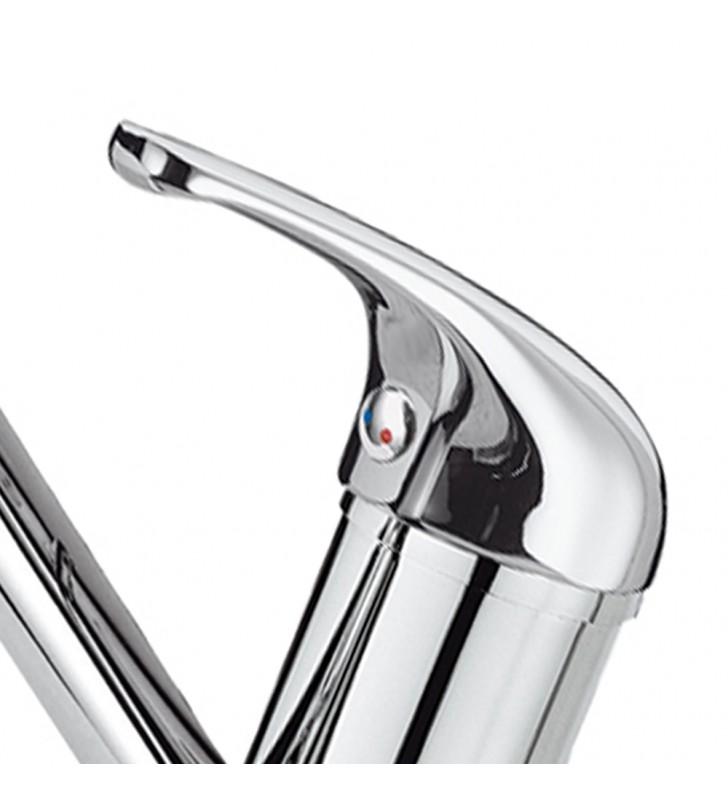 Rubinetto lavabo/lavellocon bocca girevole - serie 35 Remer F11G 2
