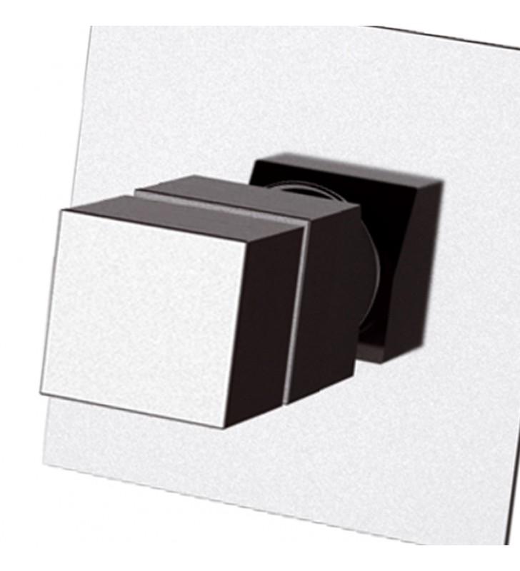 Rubinetto termostatico da incasso per doccia senza deviatore - serie qubika thermo Remer QT30