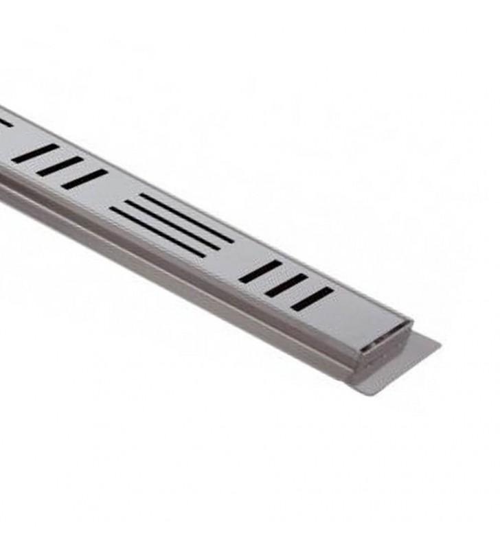 Canalina sifonata a pavimento 12,5x120 RR 913RG12120
