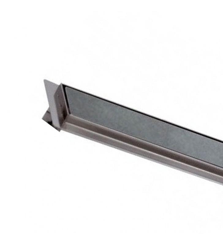 Canalina sifonata a pavimento piastrellabile 12,5x80 RR 913RP1280