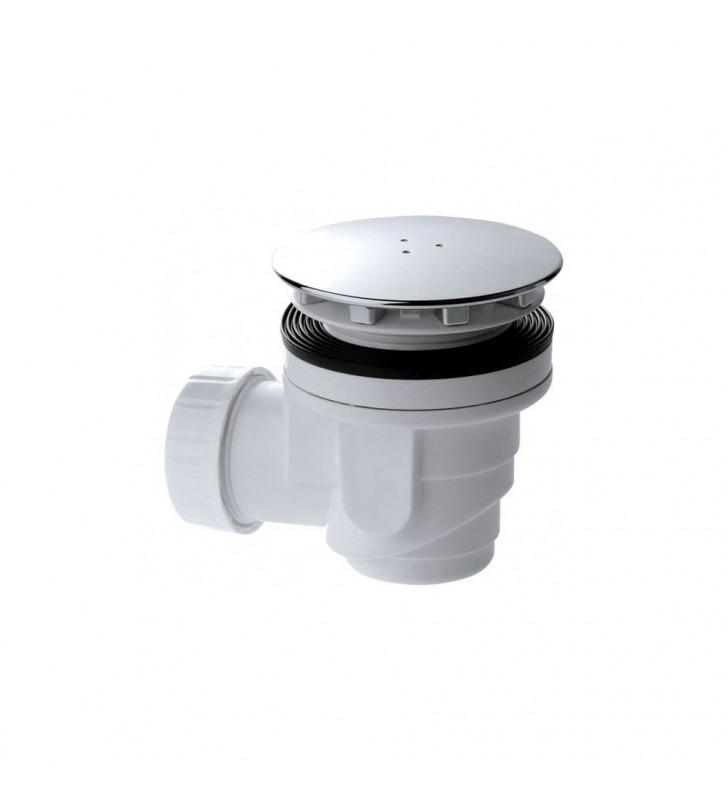 Piletta per doccia con piastra cromata 90 RR 91490