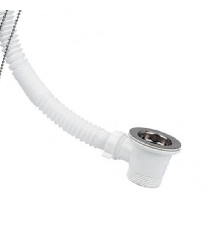 Colonna vasca semplice con tubo di collegamento estensibile RR 932