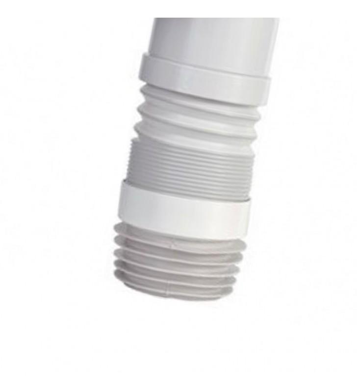 Manicotto estensibile curvo per w.c. senza troppo pieno RR 943CL