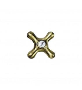 Maniglia di ricambio acqua fredda per lavello vecchio ottone - Serie Etoile (MM1) Idrobric ManFricJ46301