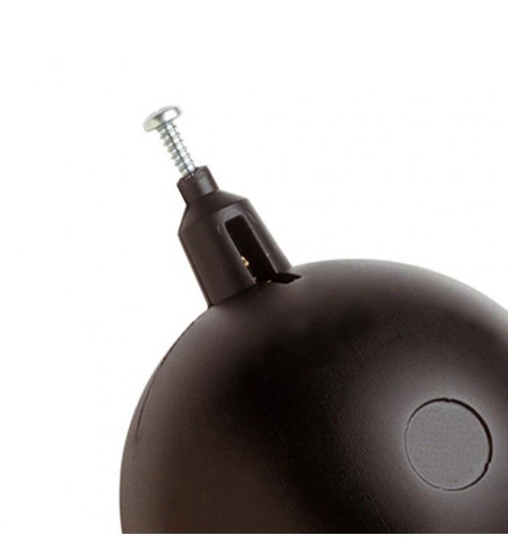 Sfera in plastica con scorrevole diam. 150 RR 182150