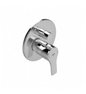 Rubinetto incasso doccia con deviatore Ideal Standard cromato - Serie Idealstream Ideal Standard SCARUB0984CR